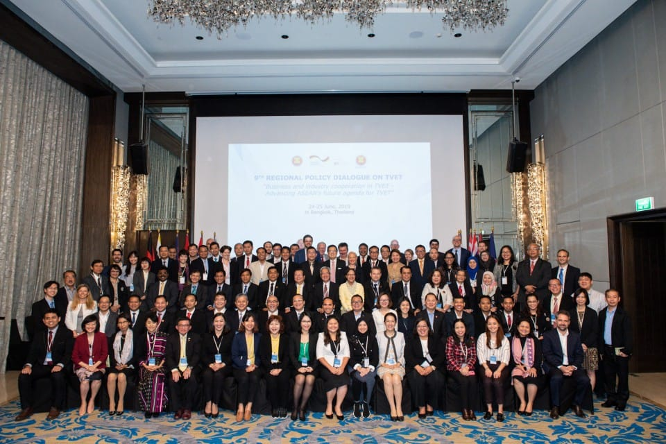 The 9th Regional Policy Dialogue on TVET discusses business and